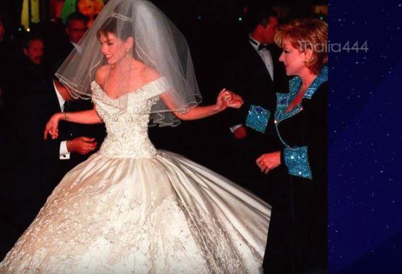 difunden imágenes nunca antes vistas de la lujosa boda de thalía