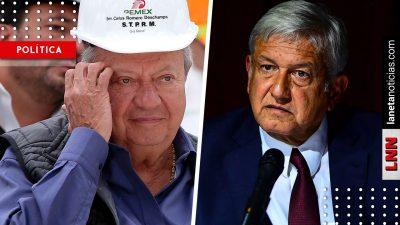 Sin impunidad en Pemex: la indirecta que AMLO manda ¿a Romero Deschamps?