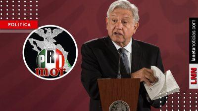 AMLO da categórica respuesta a cuestionamientos por supuesta alianza PRI-Morena