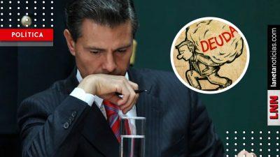 Peña hunde al país al dejar déficit presupuestario histórico; más de 300 mil mdp