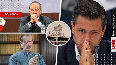 Congreso de CDMX exige que se investigue a Fox, Calderón y Peña por huachicol