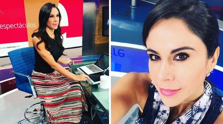 Cámara de Televisa capta trasero de Paola Rojas en pleno programa