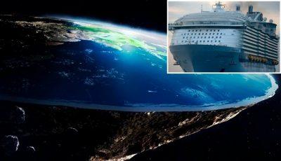 Crucero con personas que creen que la Tierra es plana zarpará en 2020