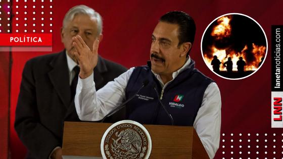 Omar Fayad informa que la investigación sobre explosión en Hidalgo está cerrada