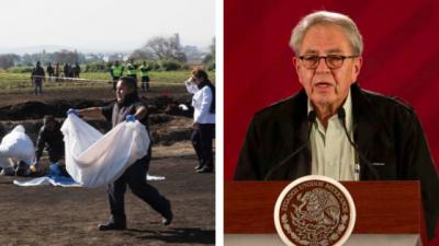 Gobierno de AMLO actualiza cifra de muertos en Hidalgo a 85