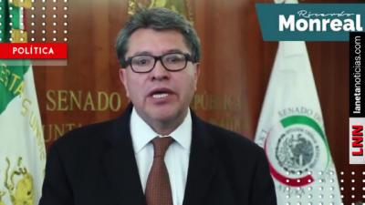 Ricardo Monreal pide respaldar a AMLO en la creación de la Guardia Nacional