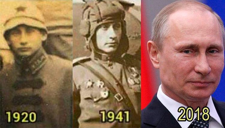 ¿Inmortal o viajero del tiempo? El misterio que esconde Vladímir Putin