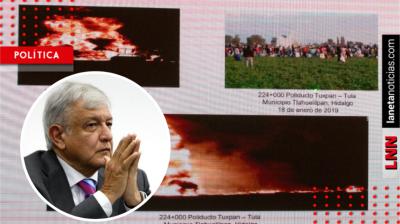 AMLO alista programa social para Tlahuelilpan: 'la gente recibirá lo suficiente'