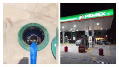 Exhiben a gasolinero comprando huachicol y redes estallan contra empresario. Noticias en tiempo real
