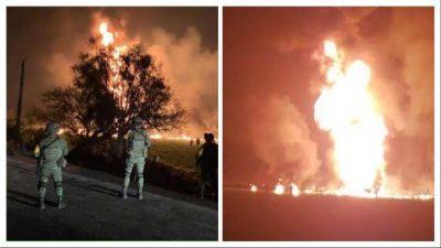 Reportera narra su arribo a la explosión en el ducto Tuxpan-Tula (VIDEO)