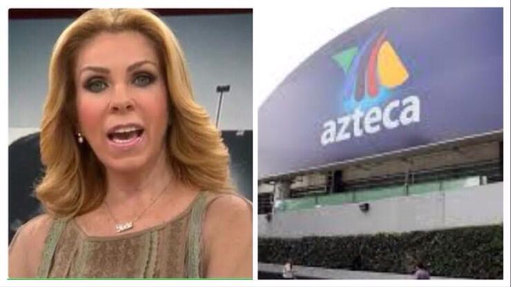 Puñalada trapera: Rocío Sánchez Azuara omite a TV Azteca en programa de Televisa