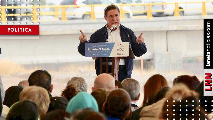 José Rosas Aispuro inaugura obras de infraestructura en La Laguna