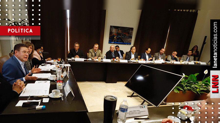 José Rosas Aispuro alista proyectos para presentar al Gobierno Federal