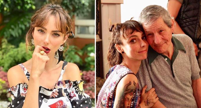 Natalia Téllez confiesa que sería capaz de mandar a su papá a un asilo