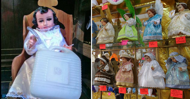 Santo Niño Huachicolero El Más Venerado En Los Tiempos Del