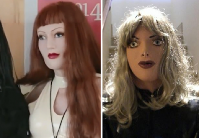Female masking: los hombres que gozan vestirse como muñecas de látex