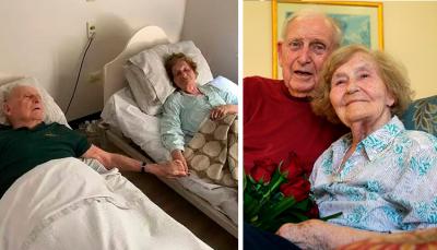 Tras 70 años de casados, fallecen el mismo día tomados de la mano