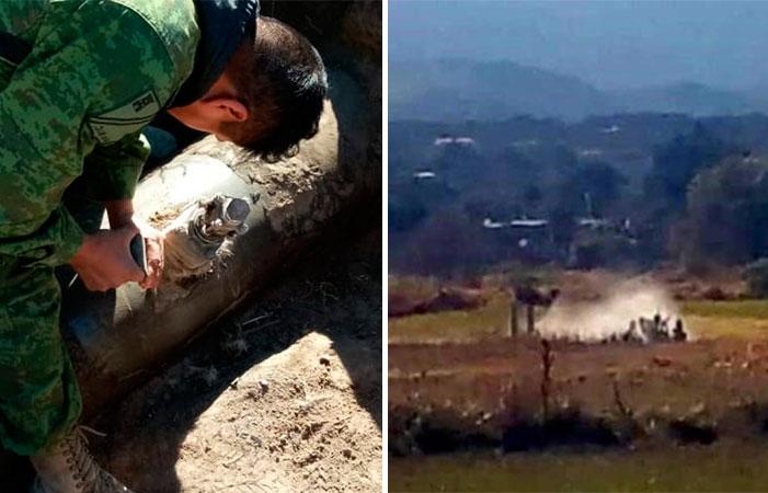<i>Sin tregua</i>: a metros del campamento militar, nueva toma clandestina en Hidalgo