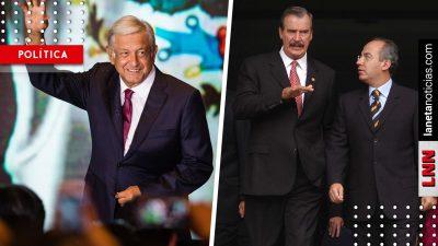 No se vale difamar: la respuesta de Fox y Calderón tras revelaciones de AMLO