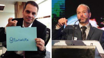 Exhiben la triste situación de Luis García y Christian Martinoli en TV Azteca