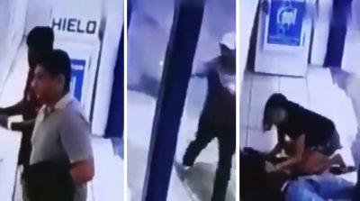 Asesinan a hombre frente a su novia; difunden video de cámaras de seguridad