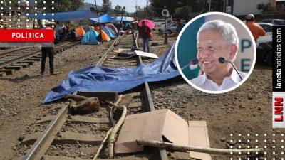 Retiramos plantón por buena voluntad hacia AMLO, no por Silvano: CNTE. Noticias en tiempo real