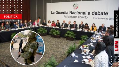 Guardia Nacional sí sería temporal y con mando civil, dice Morena