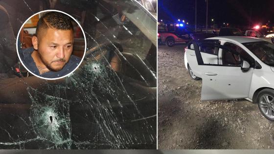 Atentan contra la vida de El Mijis: atacan a balazos el auto en el que viajaba