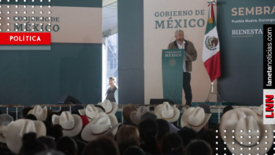 AMLO destapa corrupción en vía de Durango al presentar Sembrando Vida