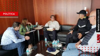 Monreal avanza en búsqueda de acuerdos con partidos sobre Guardia Nacional