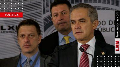 Oposición quiere la Guardia Nacional, pero no aprobará dictamen: Mancera