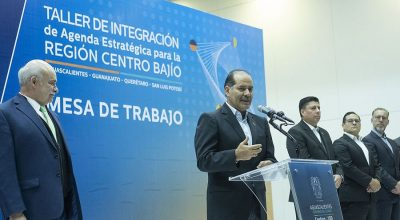 Martín Orozco presenta agenda estratégica región Centro—Bajío