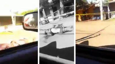 Estremece grabación de cadáveres en Michoacán tras enfrentamiento armado