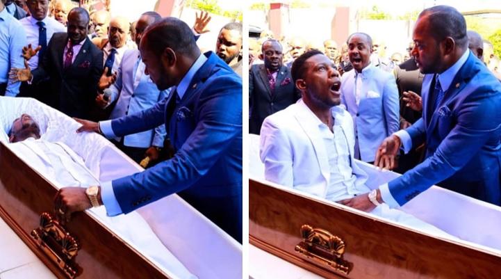 Difunden polémico video de pastor cristiano resucitando a muerto de 3 días