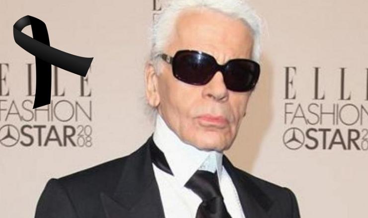Luto en la moda: fallece el diseñador Karl Lagerfeld a los 85 años