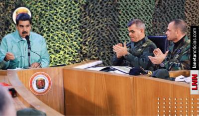 ¡Paren todo! Maduro ordena despliegue militar; enfrentaría a Trump y Colombia