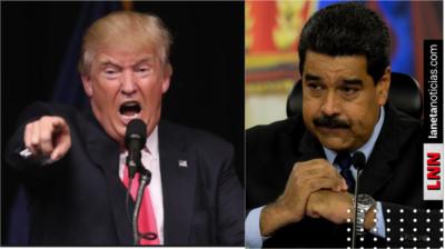 'Es un títere cubano': Trump arremete contra Nicolás Maduro
