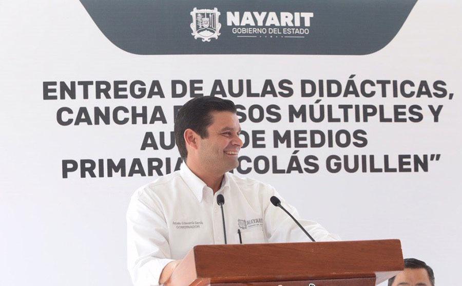 Antonio Echevarría entrega infraestructura educativa en Nayarit