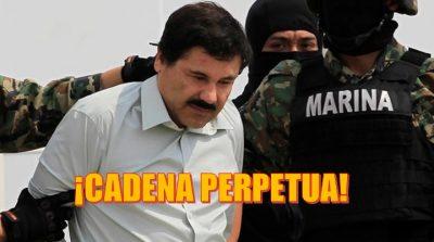 Dan cadena perpetua a El Chapo tras ser declarado culpable por narcotráfico