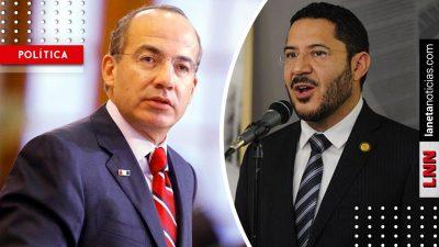 Quieren destruir la vida democrática: el mensaje que Calderón manda a Batres
