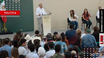 AMLO encabeza entrega de apoyos en Tamazula-Canelas, Durango