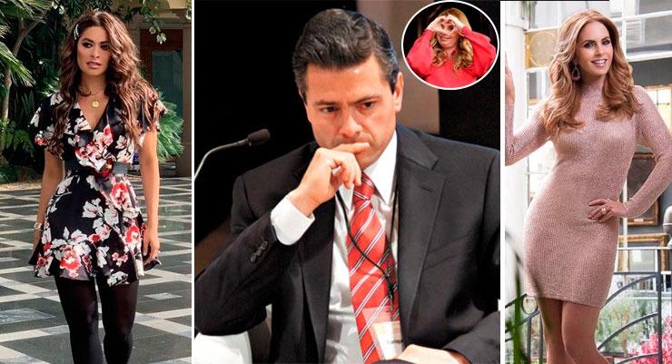 La pareja perfecta: ¿EPN eligió a Angélica Rivera entre Galilea y Lucero?