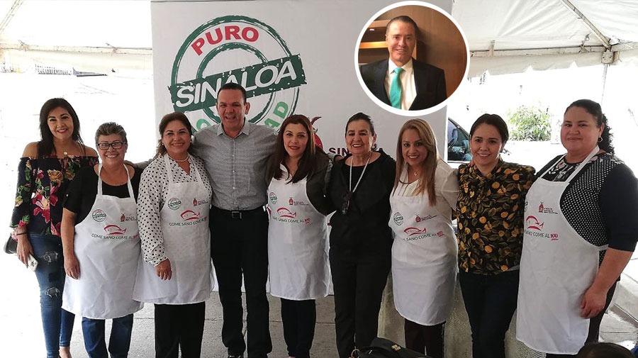 Quirino Ordaz impulsa Come sano, come al 100 en Sinaloa