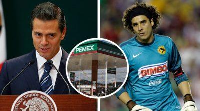 Figuras del América, los otros beneficiarios de las cochinadas de Peña Nieto