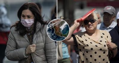 Contraste térmico: México tendrá temperaturas divididas en las próximas horas
