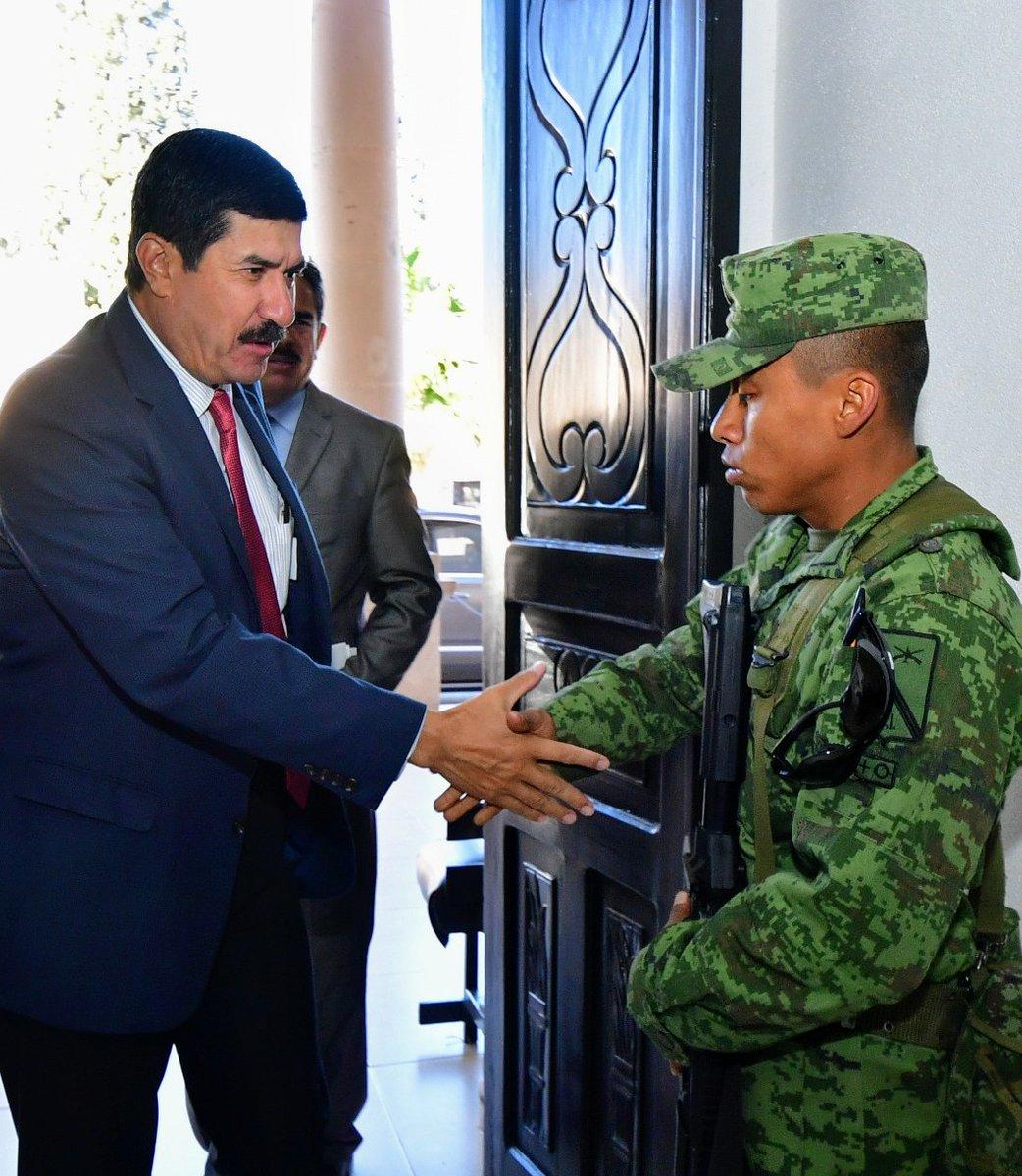 Javier Corral destaca compromiso de las Fuerzas Armadas con los derechos humanos