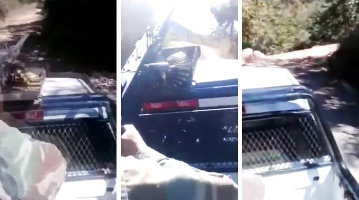 Miembros del CDS se graban patrullando entre armas largas y narcocorridos