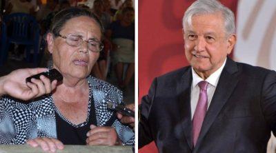 AMLO responde a la madre de El Chapo sobre repatriar al narcotraficante