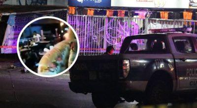 Comensales graban terror de balacera en Morelos; ejecutaron a 3 personas