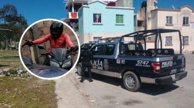 Vacían sus armas para asesinar a joven en Cancún; se les pela corriendo